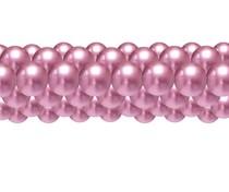 Balónková girlanda chrom růžová 3 m