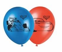 Cars balónky 8ks 28cm