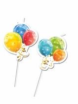 Slámky na pití balónky 6ks