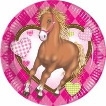 Koně talíře 8ks 20cm