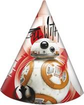 Star Wars čepičky 6ks
