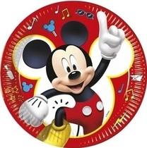 Mickey Mouse talíře papírové 8 ks 23 cm