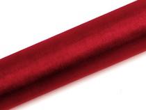 Organza červená 16 cm x 9 m