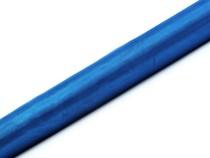 Organza modrá 36 cm x 9 m