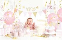 První narozeniny holka párty set 33 ks