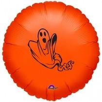 Halloween balónek oranžový 43 cm