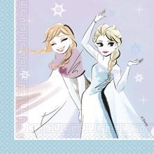Frozen ubrousky 20 ks, 33 cm x 33 cm 2-vrstvé