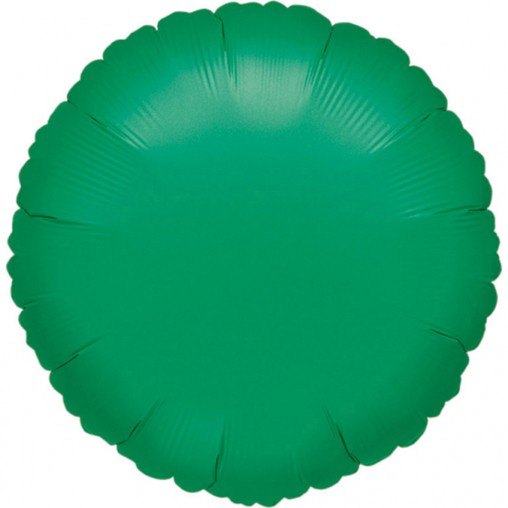 Balónek kruh zelený