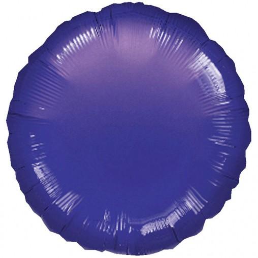 Balónek kulatý Purple Metallic