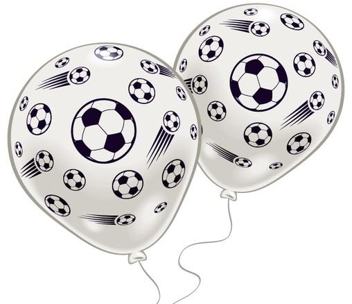 Futbal balóniky 8ks