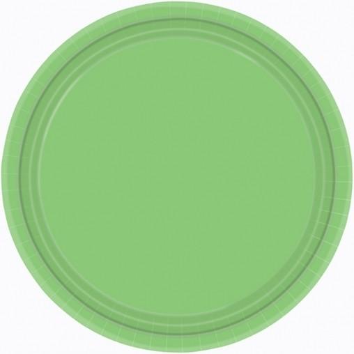 Talíře Kiwi Green 8ks 23cm