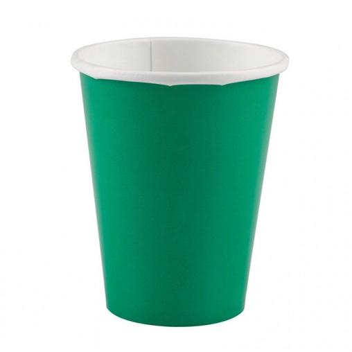Kelímky papírové Green 8ks 266ml
