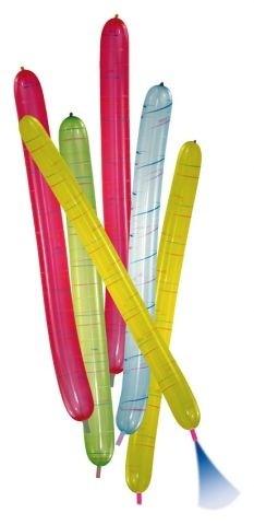 Balóniky rakety 100 cm - 6 kusů